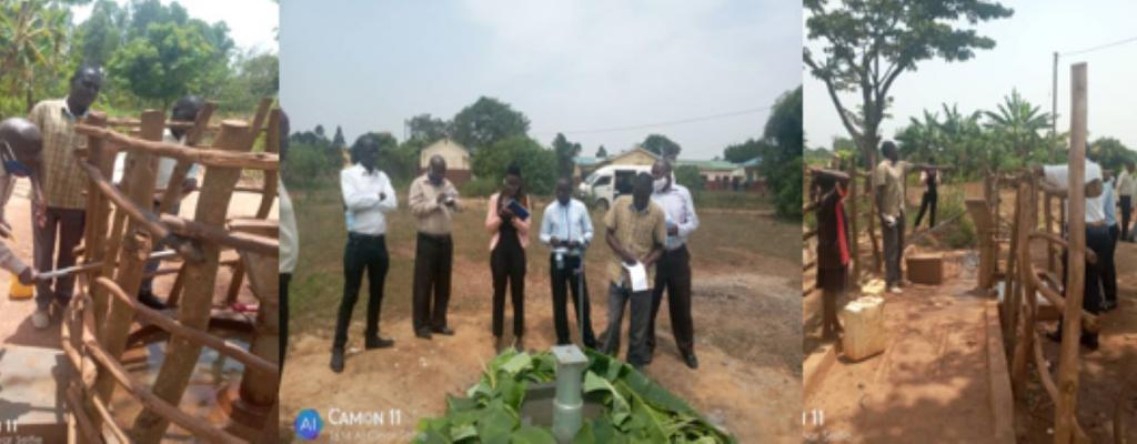 Field visits made by the District water and Sanitation coordination committee